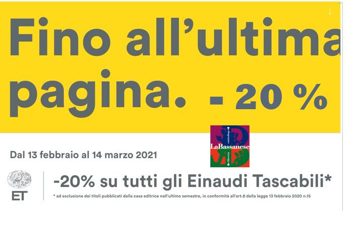 Einaudi Tascabili -20%.