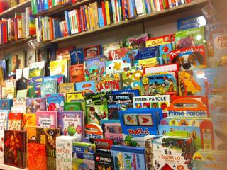 Libreria e non solo, giochi educativi, pacchetti viaggio, idee regalo