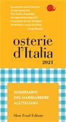 Osterie d'Italia 2021. Sussidiario del mangiarbere all'italiana
