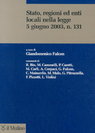 Stato, regioni ed enti locali nella legge 5 giugno 2003, n.131